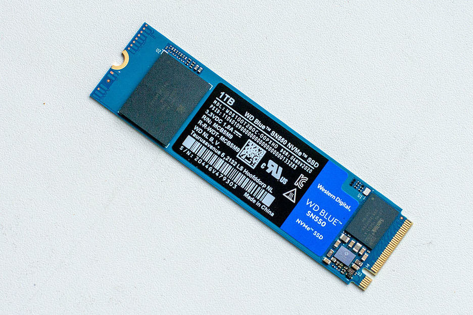 WD Blue SN550 NVMe SSD: доступный быстрый терабайт