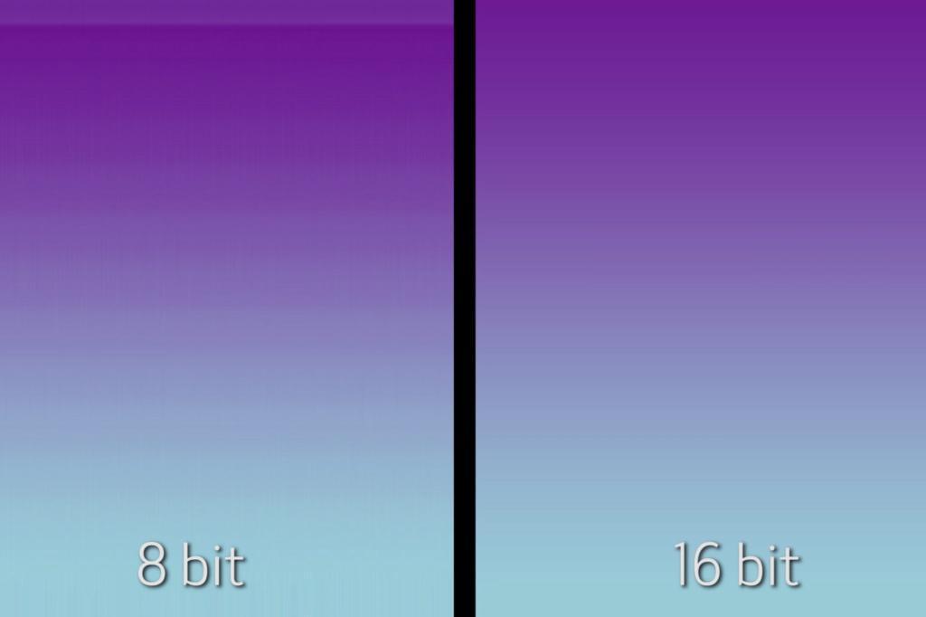 глубина цвета 8 бит