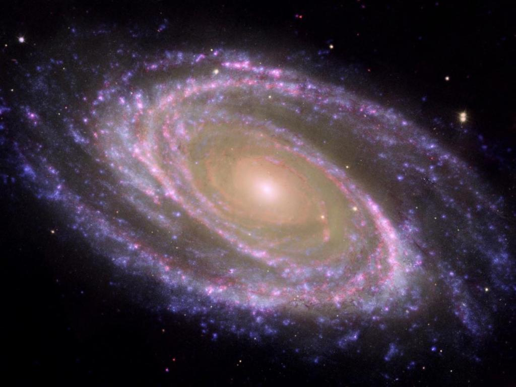 Пурпурная галактика