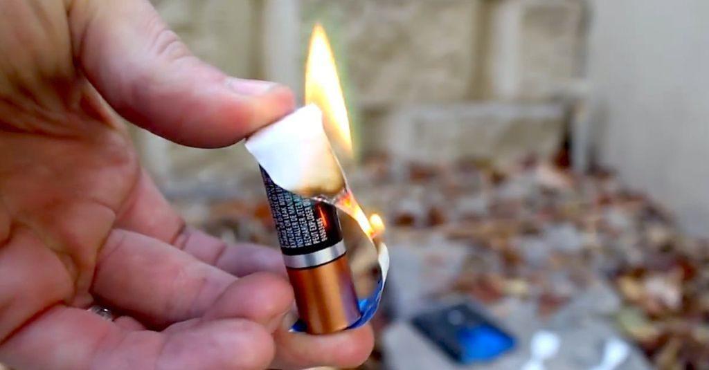 Способ добывания огня