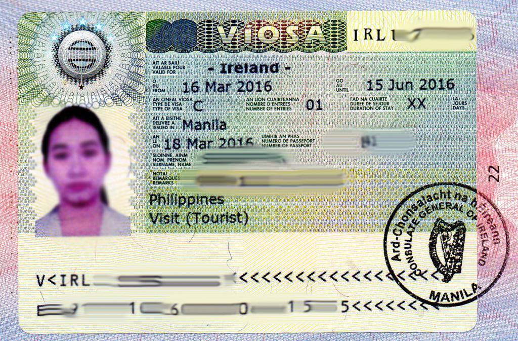 день еще ирландская виза фотография внимание