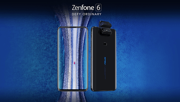 Asus представил новый смартфон ZenFone 6 с вращающейся камерой