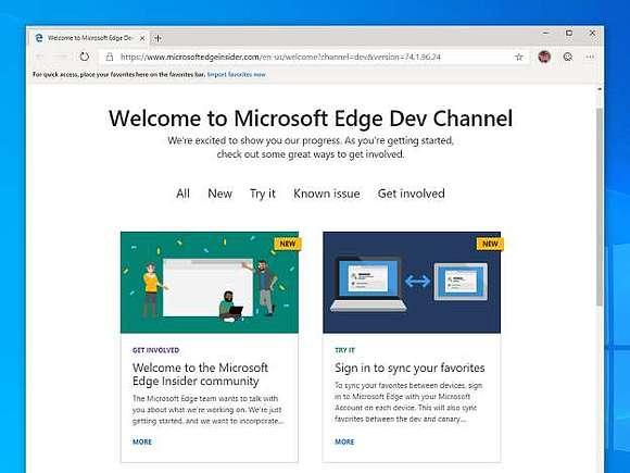 Microsoft раскрывает подробности браузера Edge для Windows 10 и MacOS