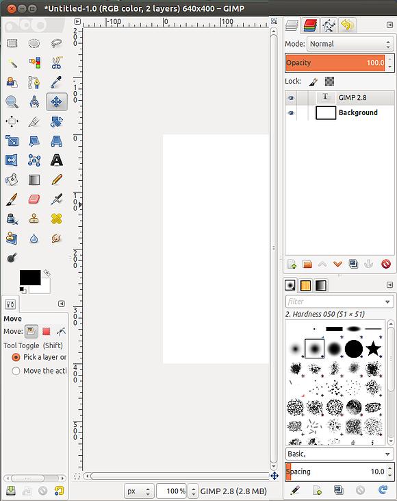 Релиз растрового графического редактора GIMP 2.8.0