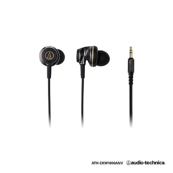Юбилейные вставные наушники Audio-Technica