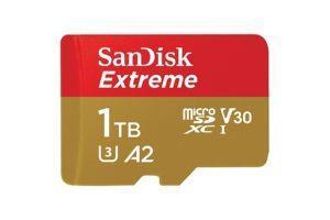 Первая microSD-карта с емкостью 1 Тб поступила в продажу