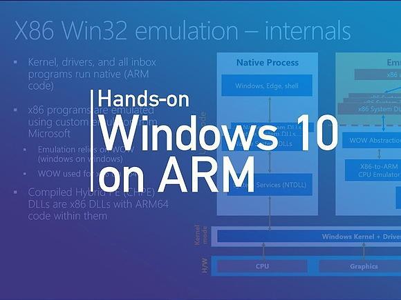 Windows 10 получила поддержку ARM64