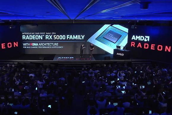Анонсированы видеокарты Radeon RX 5000 от AMD