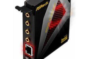 Новая звуковая карта ASRock Game Blaster