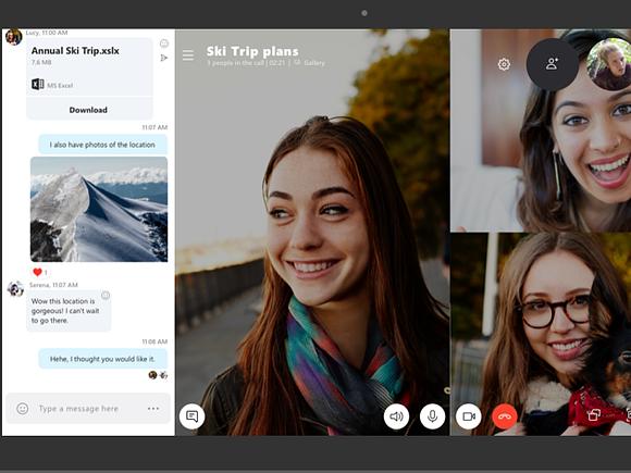 Skype позволит записывать видеочаты
