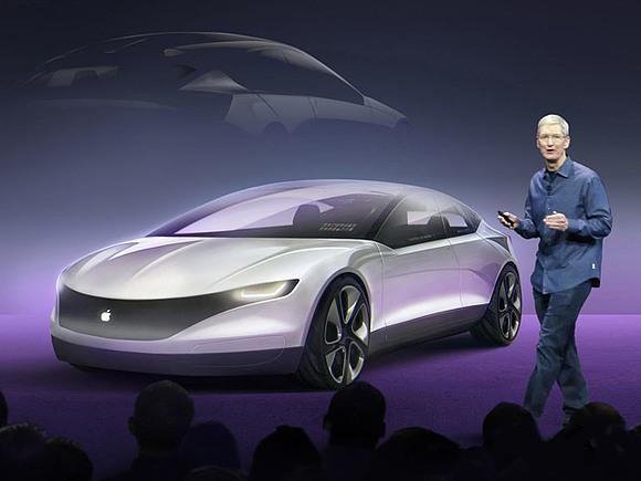 Автомобилю Apple быть?