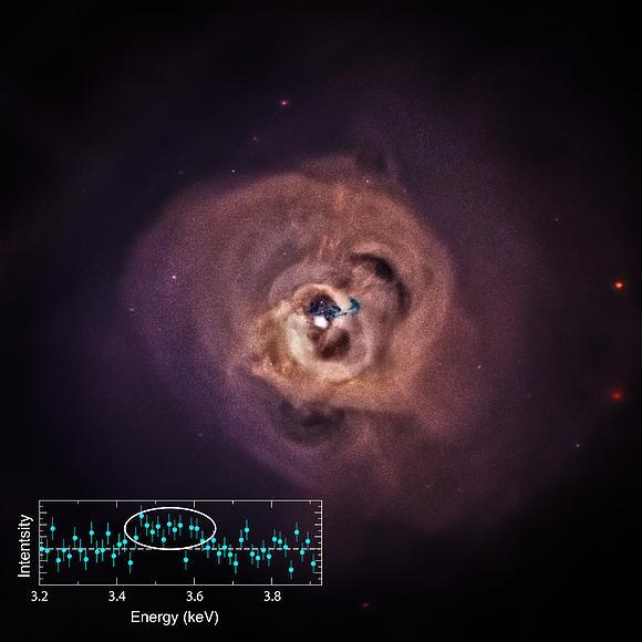 Получен сигнал темной материи